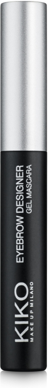 Тушь-гель для бровей прозрачная - Kiko Milano Eyebrow Designer Gel Mascara