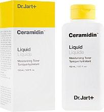 Духи, Парфюмерия, косметика Увлажняющий тонер с керамидами - Dr. Jart+ Ceramidin Liquid