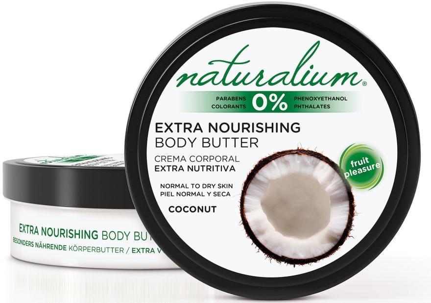 Масло для тела - Naturalium Coconut Extra Nourishing Body Butter