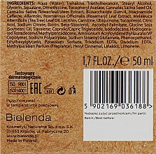 Крем для жирной и комбинированной кожи - Bielenda CBD Cannabidiol Moisturizing & Detoxifying Cream — фото N3