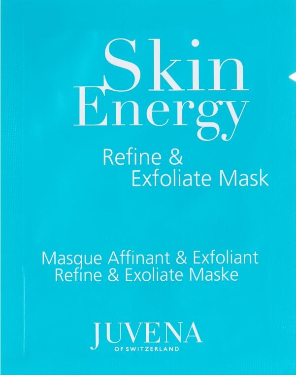 Отшелушивающая маска с гликолевой кислотой для лица - Juvena Skin Energy Refine & Exfoliate Mask (пробник)