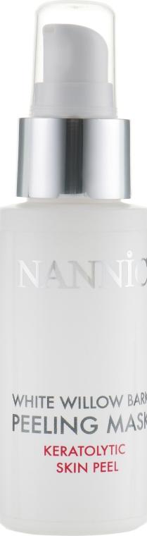 Пилинг-маска с экстрактом коры белой ивы - Nannic White Willow Bark Peeling Mask