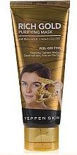 Духи, Парфюмерия, косметика Очищающая маска-пленка с золотом - Dermal Yeppen Skin Purifying Mask Rich Gold Peel-off