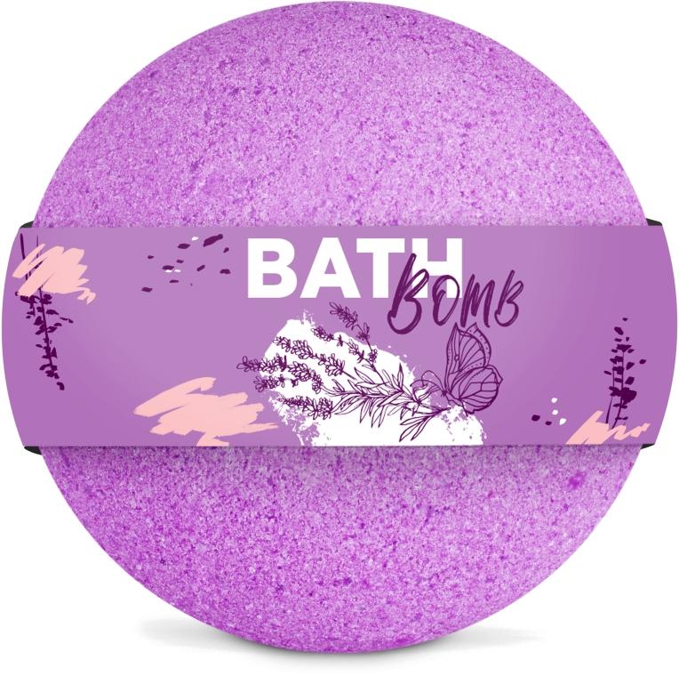 "Бомбочка для ванны ""Lavender"" - SHAKYLAB Bath Bomb"