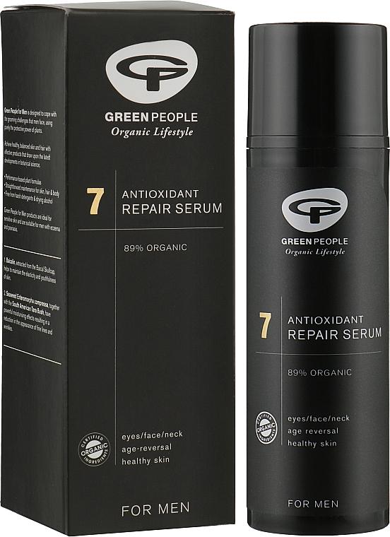 7 Омолоджуюча сироватка для обличчя для чоловіків - Green People 7 Active Fix Repair Serum — фото N2