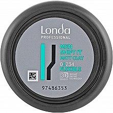 Парфумерія, косметика Матова глина нормальної фіксації для волосся  - Londa Professional Men Shift It Matt Clay