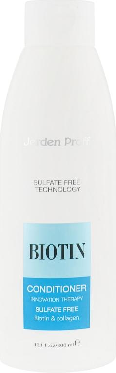 Кондиционер для волос безсульфатный с биотином и коллагеном - Jerden Proff Biotin
