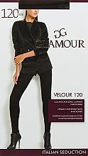 "Духи, Парфюмерия, косметика УЦЕНКА Колготки ""Velour"" 120 DEN, chocolate - Glamour *"