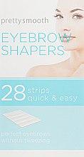 Духи, Парфюмерия, косметика Полоски для коррекции бровей - Skin Academy Eyebrow Shapers