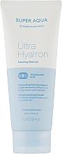 Духи, Парфюмерия, косметика Пенка для очищения лица - Missha Super Aqua Ultra Hyalron Cleansing Foam