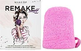 "Духи, Парфюмерия, косметика MakeUp - Рукавичка для снятия макияжа, розовая ""ReMake"""