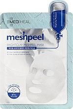Духи, Парфюмерия, косметика Очищающая маска для лица с белой глиной - Mediheal Brightclay Meshpeel Mask