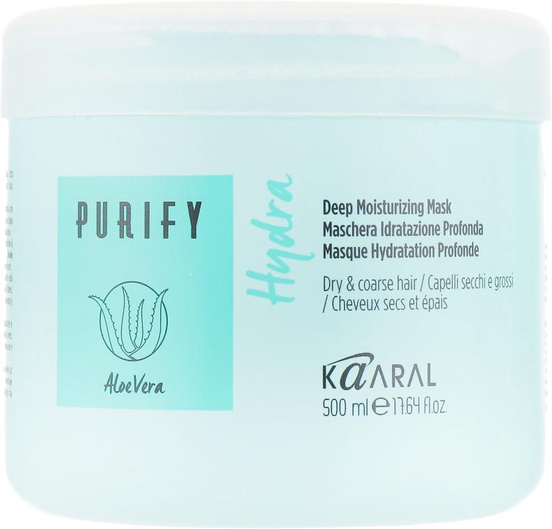 Маска интенсивная увлажняющая питательная для волос - Kaaral Hydra Deep Moiturizing Mask