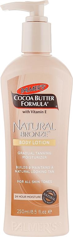 Увлажняющий лосьон-бронзатор для тела - Palmer's Сосоа Butter Formula Natural Bronze Body Lotion