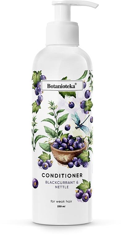 """Кондиционер для ослабленных волос """"Черная смородина и крапива"""" - Botanioteka Conditioner For Weak Hair"""