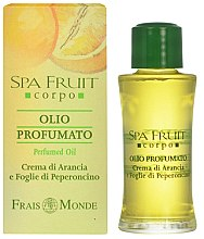 Духи, Парфюмерия, косметика Frais Monde Spa Fruit Orange And Chilli Leaves Perfumed Oil - Парфюмированное масло