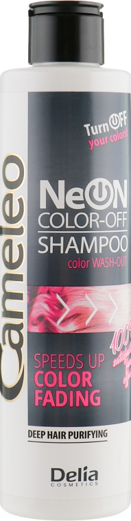 Шампунь смывающий цвет - Delia Neon Color Off Shampoo