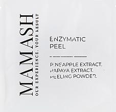 Духи, Парфюмерия, косметика УЦЕНКА Энзимный пилинг для лица с экстрактом папайи и ананаса - Mamash *