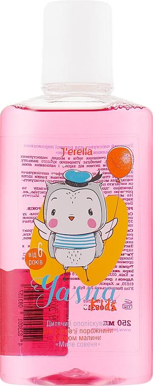 Детский ополаскиватель для полости рта с соком малины - J'erelia Yasna