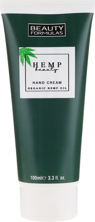 Крем для рук с конопляным маслом - Beauty Formulas Hemp Beauty Oil Hand Cream