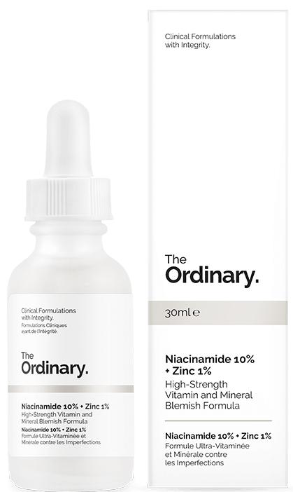 Сыворотка для лица с ниацинамидом и цинком - The Ordinary Niacinamide 10% + Zinc PCA 1%