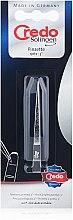 Духи, Парфюмерия, косметика Точечный пинцет никелированный, 14010 - Credo Solingen Tweezers Pointed