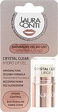 Духи, Парфюмерия, косметика Увлажняющий гель для губ - Laura Conti Crystal Clear Hydro Lip Gel