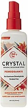 Духи, Парфюмерия, косметика Дезодорант-спрей с ароматом Граната - Crystal Essence Deodorant Body Spray Pomegranate