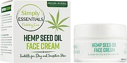Духи, Парфюмерия, косметика Крем для лица с маслом конопли - Mellor & Russell Simply Essentials Hemp Seed Oil Face Cream