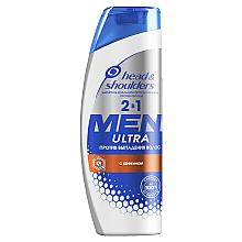 Духи, Парфюмерия, косметика Шампунь и бальзам-ополаскиватель 2в1 против выпадения волос - Head & Shoulders Hair Endurance For Men