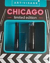 Духи, Парфюмерия, косметика Набор - Art-Visage Chicago (mascara/7 ml + eyeliner/10ml)