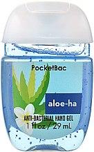 "Духи, Парфюмерия, косметика Антибактериальный гель для рук ""Aloe-ha"" - Bath and Body Works Anti-Bacterial Hand Gel"