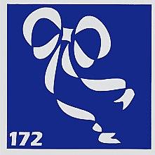 Парфумерія, косметика Трафарет для боді-арту, 6 х 6 см., 172 - Mayur