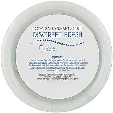 Скраб для тіла сольовий - Ceano Cosmetics Salt Body Scrub Discreet fresh — фото N2