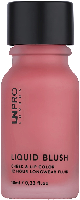 Румяна для лица - LN Pro Liquid Blush Cheek & Lip Color 12 Hour Longwear Fluid