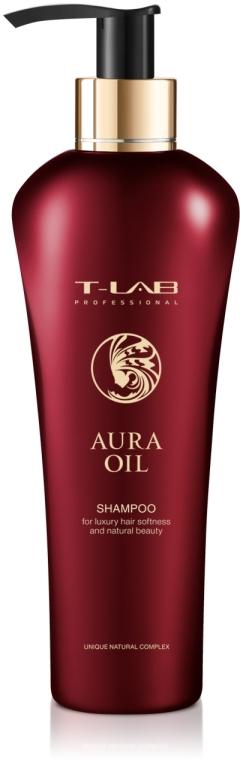 Шампунь для роскошной мягкости и естественной красоты - T-LAB Professional Aura Oil Shampoo