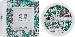 Духи, Парфюмерия, косметика Скраб для тела регенерирующий - Solen Scrub For Body