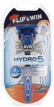 Духи, Парфюмерия, косметика Мужской станок с подставкой - Wilkinson Sword Hydro 5 Flip&Win
