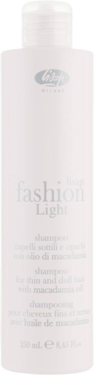 Шампунь для тонких и тусклых волос - Lisap Fashion Light Shampoo
