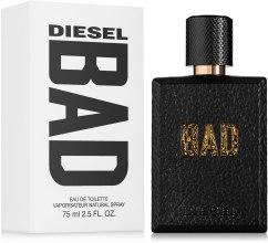 Духи, Парфюмерия, косметика Diesel Bad - Туалетная вода (тестер с крышечкой)