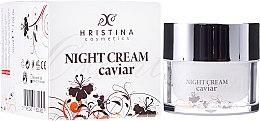 Духи, Парфюмерия, косметика Укрепляющий ночной крем для лица с икрой - Hristina Cosmetics Orient Caviar Night Cream