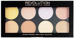 Духи, Парфюмерия, косметика Палетка для стробинга - Makeup Revolution Ultra Strobe and Light Palette