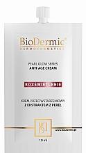 Духи, Парфюмерия, косметика Антивозрастной крем для лица - BioDermic Pearl Glow Anti-Age Cream (мини)