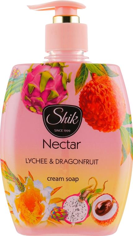 """Гель-мыло жидкое """"Личи и питахайя"""", в полимерной бутылке - Шик Nectar"""