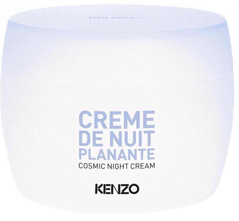 Ночной космический крем для лица - KenzoKi White Lotus Cosmic Night Cream