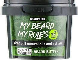 "Духи, Парфюмерия, косметика Масло для бороды ""My Beard My Rules"" - Beauty Jar Beard Butter"