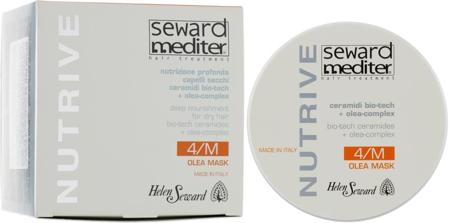 Восстанавливающая маска для волос с керамидами - Helen Seward Nutrive Olea Mask