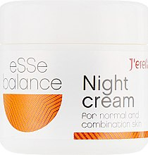 Духи, Парфюмерия, косметика Ночной крем для нормальной и комбинированной кожи - J'erelia Esse Balance