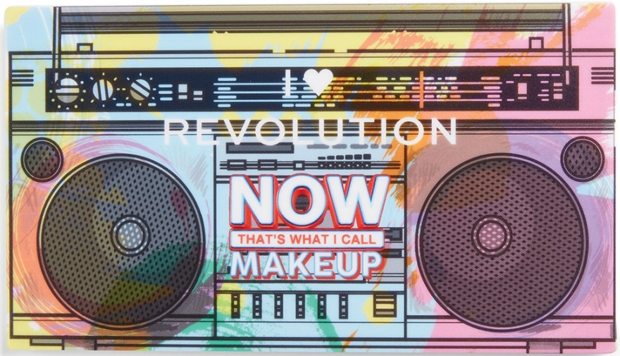 Палетка теней для век - I Heart Revolution NOW That's What I Call Makeup 90s