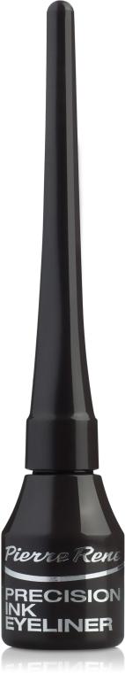 Жидкая подводка для глаз - Pierre Rene Precision Ink EyeLiner